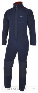 Dry Fashion Fleece-Underall, 360gr., navy-blau