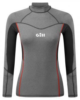 Gill Rash-Shirt PRO RASH VEST Langarm (Damen), grau