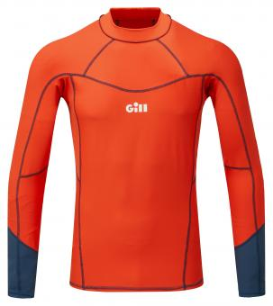 Gill Rash-Shirt PRO RASH VEST Langarm (Herren), orange
