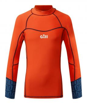 Gill Rash-Shirt PRO RASH VEST Langarm (Kinder), orange