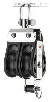 Sprenger 8mm-Block S-Serie (Kugellager), 2-scheibig, Hundsfott, Wirbel