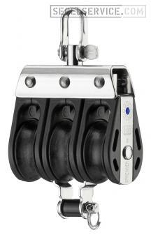 Sprenger 8mm-Block S-Serie (Nadellager), 3-scheibig, Hundsfott, Wirbel