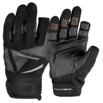 Segelhandschuhe Magic Marine ULTIMATE 2 GLOVE (lange Finger), schwarz