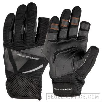 Magic Marine Kinder-Segelhandschuhe ULTIMATE JUNIOR 2 GLOVE (lange Finger), schwarz