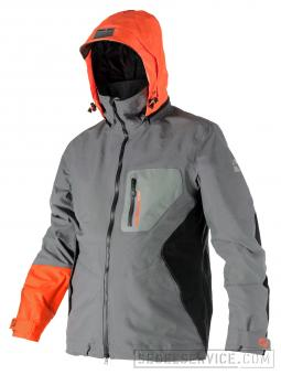 Magic Marine Segeljacke ELEMENT (Herren), grau/orange