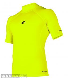 Magic Marine Rash-Shirt CUBE (Kurzarm), signal-gelb