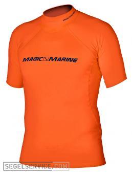 Magic Marine Rash-Shirt CUBE (Kurzarm), orange