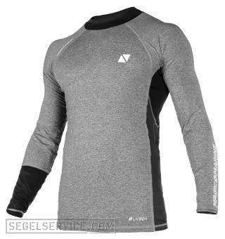 Magic Marine Rash-Shirt ENERGY MEN (Langarm), grau/schwarz