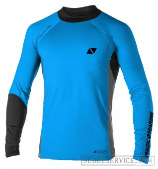 Magic Marine Rash-Shirt ENERGY MEN (Langarm), blau-schwarz