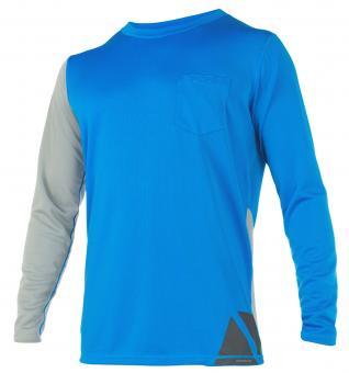Magic Marine Rash-Shirt CUBE QUICKDRY (Langarm), blau
