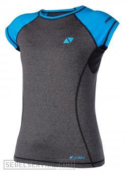 Magic Marine Rash-Shirt ENERGY LADIES (Kurzarm), schwarz-blau