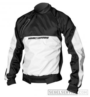 Magic Marine Kinder-Spraytop RACING BREATHABLE JUNIOR, schwarz-weiss [::Abverkauf::]