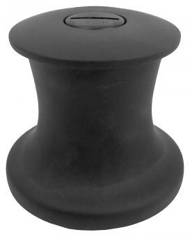 Pfeiffer Durchholwinsch (Knarrpoller), 71mm, Alu schwarz