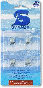 Secumar DOCK PILL BOX (Auslösetabletten) für Automatik 4001S