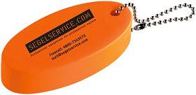 Schlüsselanhänger SEGELSERVICE.COM, schwimmfähig