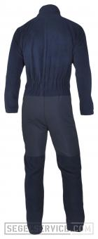 Dry Fashion Fleece-Underall, 360gr., navy-blau