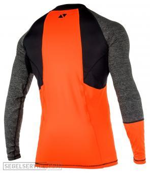 Magic Marine Rash Shirt ENERGY MEN (Langarm), grau/orange