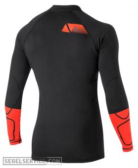 Magic Marine Rash Thermal-Shirt IMPACT PRO mit Prallschutz, schwarz-orange [::Sonderaktion:]