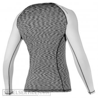 Magic Marine Rash-Shirt ENERGY LADIES (Langarm), grau/weiss