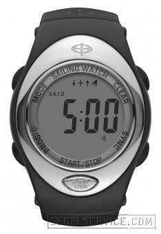 OPTIMUM TIME Regatta-Uhr OS 223V, schwarz (Velcro-Armband)
