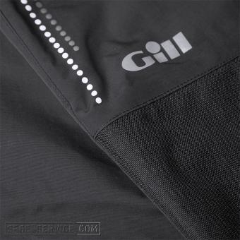 Gill Salopettes PRO (Herren), schwarz