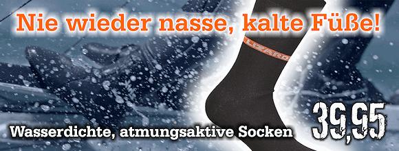 Banner wasserdichte Socke
