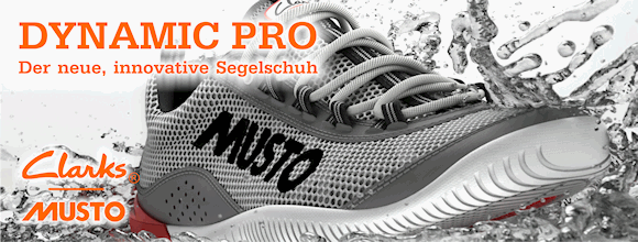 Banner Musto Schuh Dynamic Pro