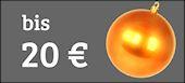Tolle Weihnachtsgeschenke bis 20 Euro