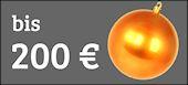 Tolle Weihnachtsgeschenke bis 200 Euro