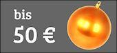 Tolle Weihnachtsgeschenke bis 50 Euro